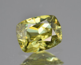 Natural Demantoid Garnet 1.13 Cts, Full Sparkle Faceted Gemstone