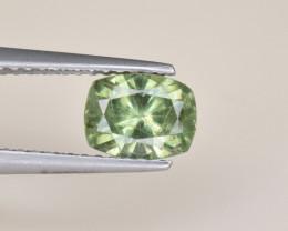 Natural Demantoid Garnet 1.18 Cts, Full Sparkle Faceted Gemstone