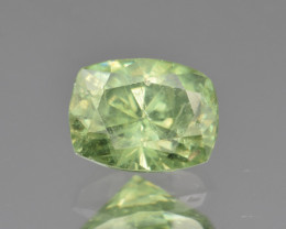 Natural Demantoid Garnet 1.18 Cts, Full Sparkle Faceted Gemstone