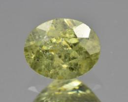 Natural Demantoid Garnet 1.20 Cts, Full Sparkle Faceted Gemstone