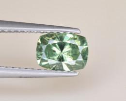 Natural Demantoid Garnet 1.22 Cts, Full Sparkle Faceted Gemstone