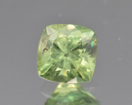 Natural Demantoid Garnet 1.27 Cts, Full Sparkle Faceted Gemstone