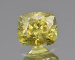 Natural Demantoid Garnet 1.36 Cts, Full Sparkle Faceted Gemstone