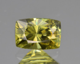 Natural Demantoid Garnet 1.41 Cts, Full Sparkle Faceted Gemstone