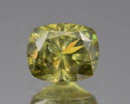 Natural Demantoid Garnet 1.89 Cts, Full Sparkle Faceted Gemstone