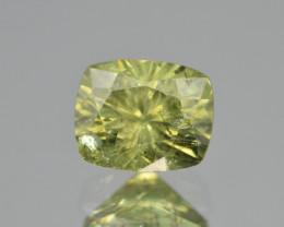 Natural Demantoid Garnet 2.02 Cts, Full Sparkle Faceted Gemstone