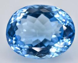 16.42 Crt Natural Topaz Faceted Gemstone.( AB 32)