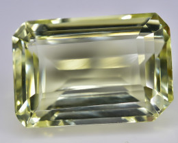 12.02 Crt Lemon Quartz Faceted Gemstone (Rk-3)