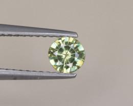Natural Demantoid Garnet 0.39 Cts, Full Sparkle Faceted Gemstone