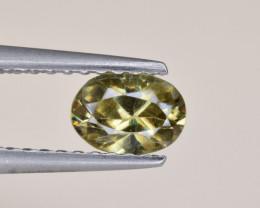 Natural Demantoid Garnet 0.47 Cts, Full Sparkle Faceted Gemstone