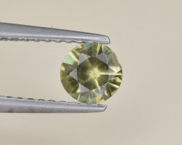 Natural Demantoid Garnet 0.50 Cts, Full Sparkle Faceted Gemstone