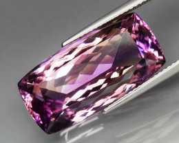 23.47 ct. Natural Top Nice Purple Ametrine Unheated Brazil - IGE Сertified