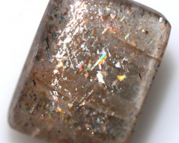 $6.60 PER CARAT  RAINBOW LATTICE SUNSTONE  [S-SAFE481]