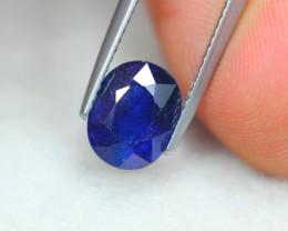 3.41Ct Blue Sapphire Oval Cut Lot LZ3851