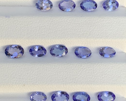 5.27 Carats Tanzanite Gemstone Parcels