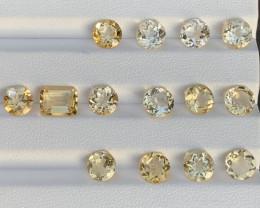 19.56 Carats Citrine  Gemstones Parcels