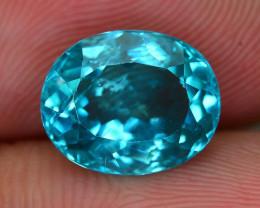 Rare 3.03 ct Amazing Luster Blue Apatite SKU.8