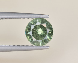 Natural Demantoid Garnet 0.69 Cts, Full Sparkle Faceted Gemstone