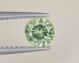 Natural Demantoid Garnet 0.70 Cts, Full Sparkle Faceted Gemstone