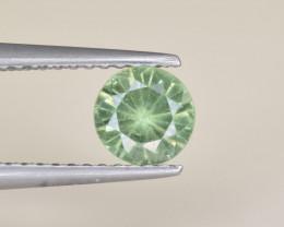 Natural Demantoid Garnet 0.75 Cts, Full Sparkle Faceted Gemstone