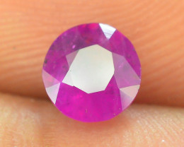 Top Clarity & Color 0.80 ct Rarest Pink Ruby~ Kashmir   AB