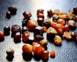 51.15 CT Natural - Unheated Brown Garnet Rough Lot