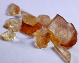 82.90 CT Natural - Unheated  Orange Brown Topaz  Rough Lot