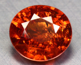1.48 Cts NATURAL SPESSARTITE GARNET FANTA ORANGE RED LOOSE GEMSTONE