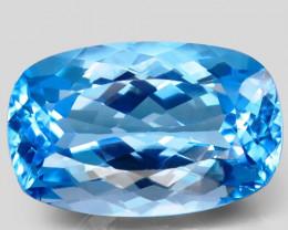 42.36 ct.   Natural Top Quality Swiss Blue Topaz Brazil –IGE Сertified