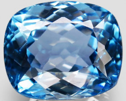 40.78 ct.  Natural Top Quality Sky Blue Topaz Brazil  - IGE Сertified