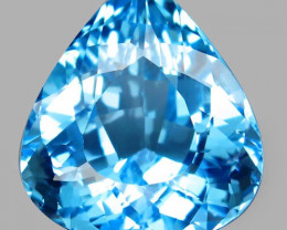 54.79 ct. Natural Top Quality Sky Blue Topaz Brazil - IGE Сertified
