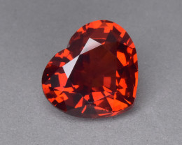 2.99 Cts Elegant Wonderful Heart Shape Natural Spessartite Garnet