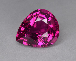 6.40 Cts Magnificent Beautiful Color Natural Rubellite Tourmaline