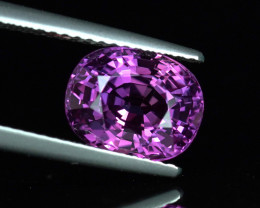4.09CT UNHEATED HOT PURPLE COLOR CHANGE SAPPHIRE $1NR!