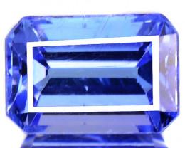 0.91 Cts Amazing Intense Blue Color Natural Tanzanite Gemstone