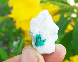 41.38Cts Terminated Emerald, Swat Mine Pakistan