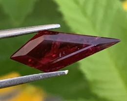 Fancy Cut Gil Certified 1.65 Carat Ruby Gemstones