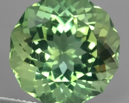18.60Cts Stunning Round Cut Green Amethyst Natural Brazil