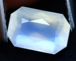 Moonstone 1.43Ct Top AAA Sri Lanka Rainbow Blue Moonstone A3128