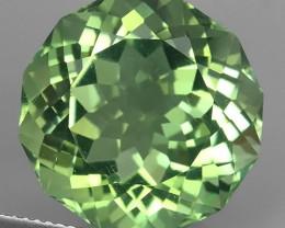 20.15 Cts Stunning round Cut Green Amethyst~Prasiolite Natural Brazil