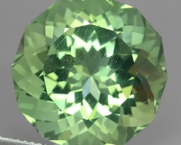 22.20 Cts Stunning round Cut Green Amethyst Natural Brazil