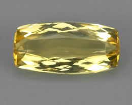 CERTIFIED 3.169 CTS GENUINE NATURAL RARE TOP-YELLOW-PRECIOUS- IMPERIAL-TOPA
