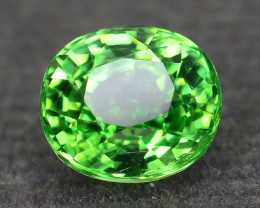 1.27 ct Tsavorite Garnet Glowing Green Color SKu-7