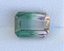 1.89 Carats Natural Bi Color Tourmaline Gemstone