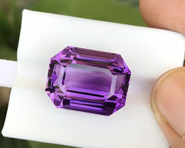 27.50 Ct Natural Purple Internally Flawless Amethyst Gemstone