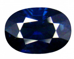 AIG Certified Blue Sapphire - 2.11 ct