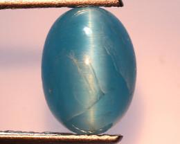 1.97 Ct Natural Cat's Eye Blue Apatite Rarest Gemstone. ATC 22