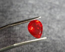 1.26ct VVS O-Red Fire Opal