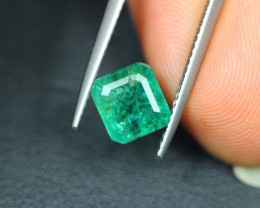 2.03Ct Natural Zambia Green Emerald Octagon Cut Lot  LZ3860