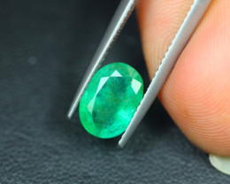 1.78Ct Natural Zambia Green Emerald Oval Cut Lot LZ3865